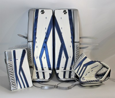 White and Blue Pads